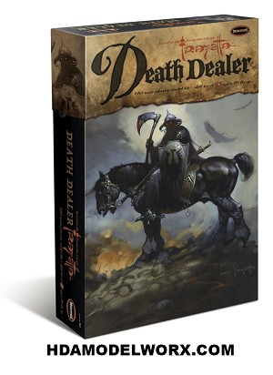 Frazetta Death Dealer 1:10 Scale Model Kit by Moebius Models