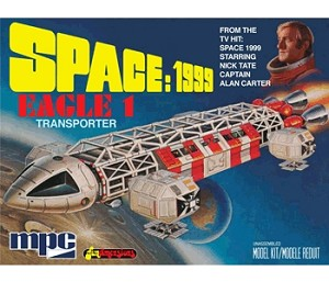 SPACE:1999 EAGLE-1 TRANSPORTER 1:72 Scale by MPC