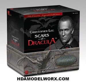 Scars of Dracula Premier Resin Kit by Pegasus Models