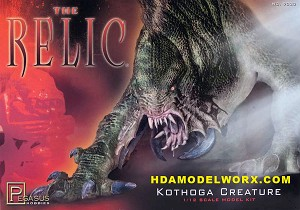 The Relic Kothoga Creature 1/12th scale Model Kit by Pegasus Hobbies