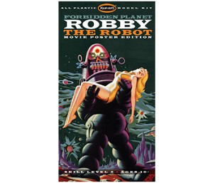 FORBIDDEN PLANET ROBBY THE ROBOT POSTER EDITION