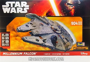 Revell Star Wars™ 1/72 Millennium Falcon™ 1:72 Scale Master Series Model Kit
