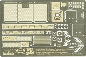 The Chariot Photoetch and Decal Set by Paragrafix for Moebius Models kit 902