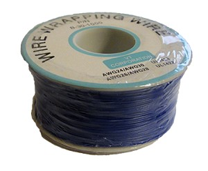 Wire Wrapping Wire AWG28 BLUE