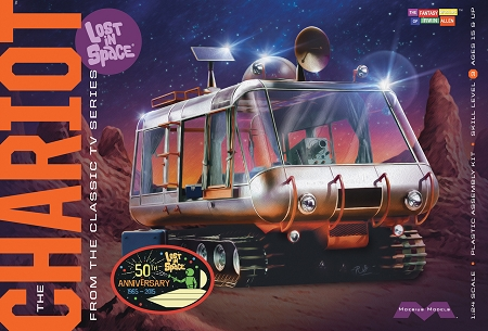 LOST IN SPACE: THE CHARIOT 1:24 Scale 50th Anniversary Model Kit
