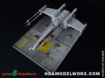 Instant and Easy HANGAR DECK #2 Diorama Kit by GREEN STRAWBERRY
