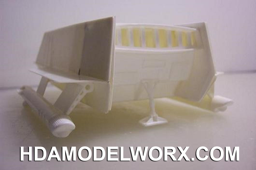 Star Trek Galileo Shuttlecraft Conversion Kit for the AMT Galileo 1/32 Scale Model Kit by Larson Designs/Lunar Models
