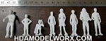 Lost in Space 1:35 Scale Plain Clothe Figures from the Second Season by Larson Designs/Lunar Models