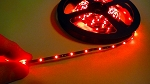 LED TAPE 0805 RED SINGLE DENSITY (300 LEDs) 5m