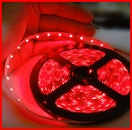 LED TAPE 3528 RED SINGLE DENSITY (300 LEDs) 5m