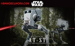 Star Wars AT-ST 1:48 scale kit by BANDAI
