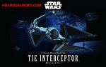 Star Wars TIE INTERCEPTOR 1:72 scale kit by BANDAI