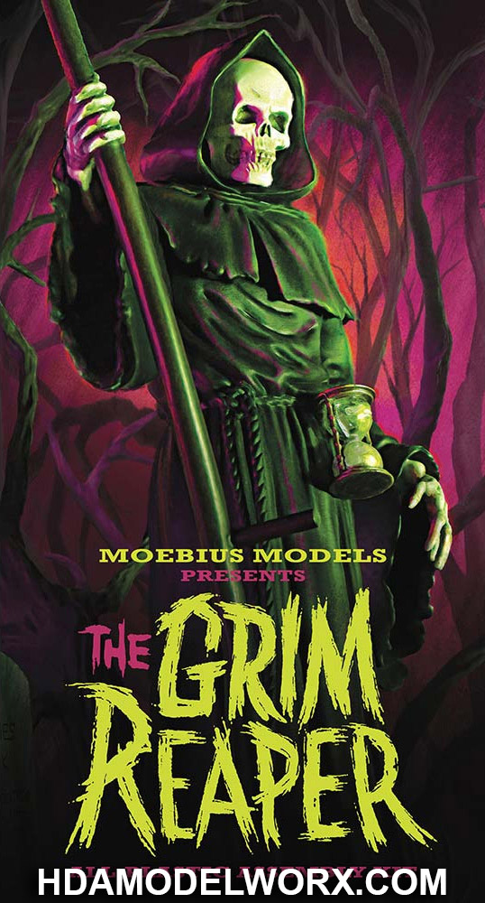 The GRIM REAPER 1/8 Scale Model Kit from Moebius Models