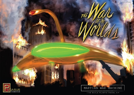 War of the Worlds Martian War Machine  1:48 SCALE