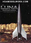 The LUNA ROCKETSHIP 1/350 Scale Model Kit by Pegasus Hobbies
