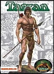 Tarzan 1/8th scale Model Kit by Pegasus Hobbies