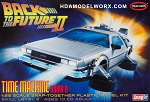 Back to the Future Part II TIME MACHINE MARK II 1:25 Scale Model Kit by Polar Lights