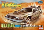 Back to the Future Part III TIME MACHINE MARK III 1:25 Scale Model Kit by Polar Lights