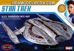 Star Trek USS SHENZHOU 1:2500 Scale Model Kit  by Polar Lights