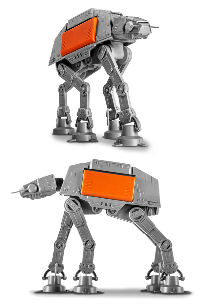 Star Wars Rogue One Imperial AT-ACT Cargo Walker 1:100 Scale Model Kit by Revell
