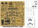 Photoetch set for the Bandai Star Wars T-65 X-Wing 1:72 Scale Model Kit by GREEN STRAWBERRY