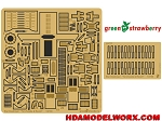 Photoetch set for the Zvezda / Revell Star Destroyer scale 1/2700 Set by GREEN STRAWBERRY