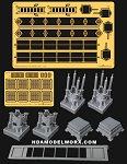 Hangar Equipment Vol. ll Service Ramp Full Resin kit with Photoetch set 1:72 Scale Model Kits by GREEN STRAWBERRY