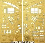 EVA Pod (2001 A Space Odyssey) Extravehicular Activity Pod Photoetch Set for the Moebius Model kit by Paragrafix