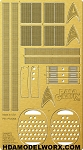 1/350 Scale TOS USS Enterprise Engine Grills Photo-Etch Set by Paragrafix