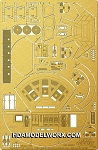 Discovery XD-1 Pod Bay Photoetch Set for the Moebius Model kit by Paragrafix