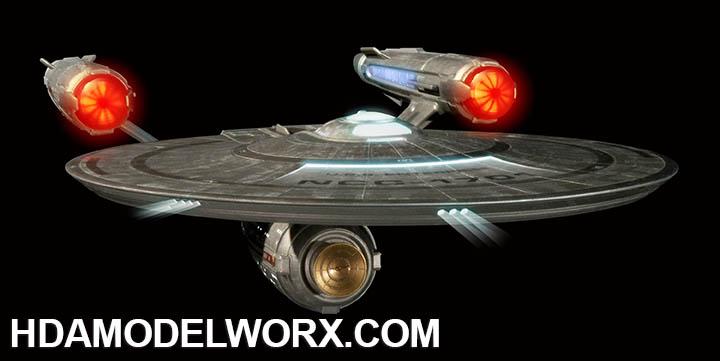 Polar Lights 1//1000 Star Trek Discovery USS Enterprise Model Kit PLL973 POL973