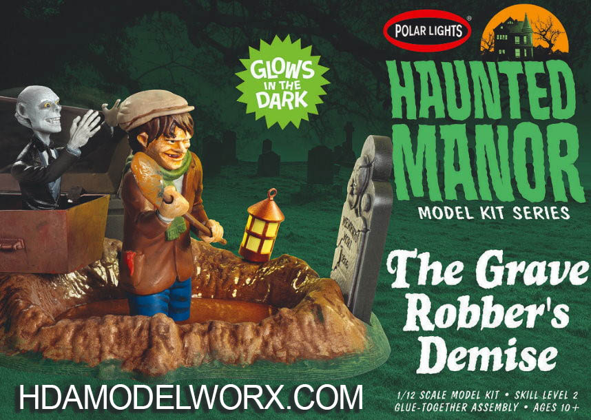Haunted Manor Model Kit Series THE GRAVE ROBBER'S DEMISE 1/12 SCALE MODEL KIT by Polar Lights