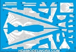 Decals for Admiral Thrawn's Chimera Star Destroyer for the BANDAI 001 Model Kit by GREEN STRAWBERRY