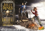 Jolly Roger Series:  Duel with Death 1:12th SCALE Model Kit by Lindberg