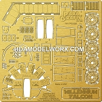 Perfect Grade Millennium Falcon Photoetch Set 1/72 scale for the Bandai Model Kit by Paragrafix