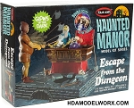 Haunted Manor Model Kit Series ESCAPE FROM THE DUNGEON 1/12 SCALE MODEL KIT by Polar Lights