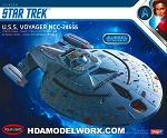 Star Trek USS VOYAGER NCC-74656 1:1000 SCALE Model Kit by Polar Lights  COMING SOON
