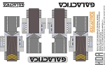 Revised TOS Battlestar Glactica BSG DECALS FOR THE PARAGRAFIX PHOTO-ETCH SET