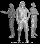 Hangar Crew Vol. VII 1:72 Scale Resin Figures Kit by GREEN STRAWBERRY