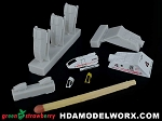 Resin Shuttles - early types TMP-ST:V in 537 Scale with decals by GREEN STRAWBERRY