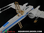 T70 X-Wing fighter photoetch detail set for the Bandai 72 Scale Model Kit by GREEN STRAWBERRY  COMING SOON