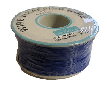 Wire Wrapping Wire AWG30 BLUE