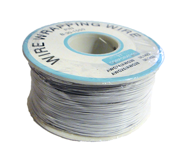 Wire Wrapping Wire AWG30 WHITE
